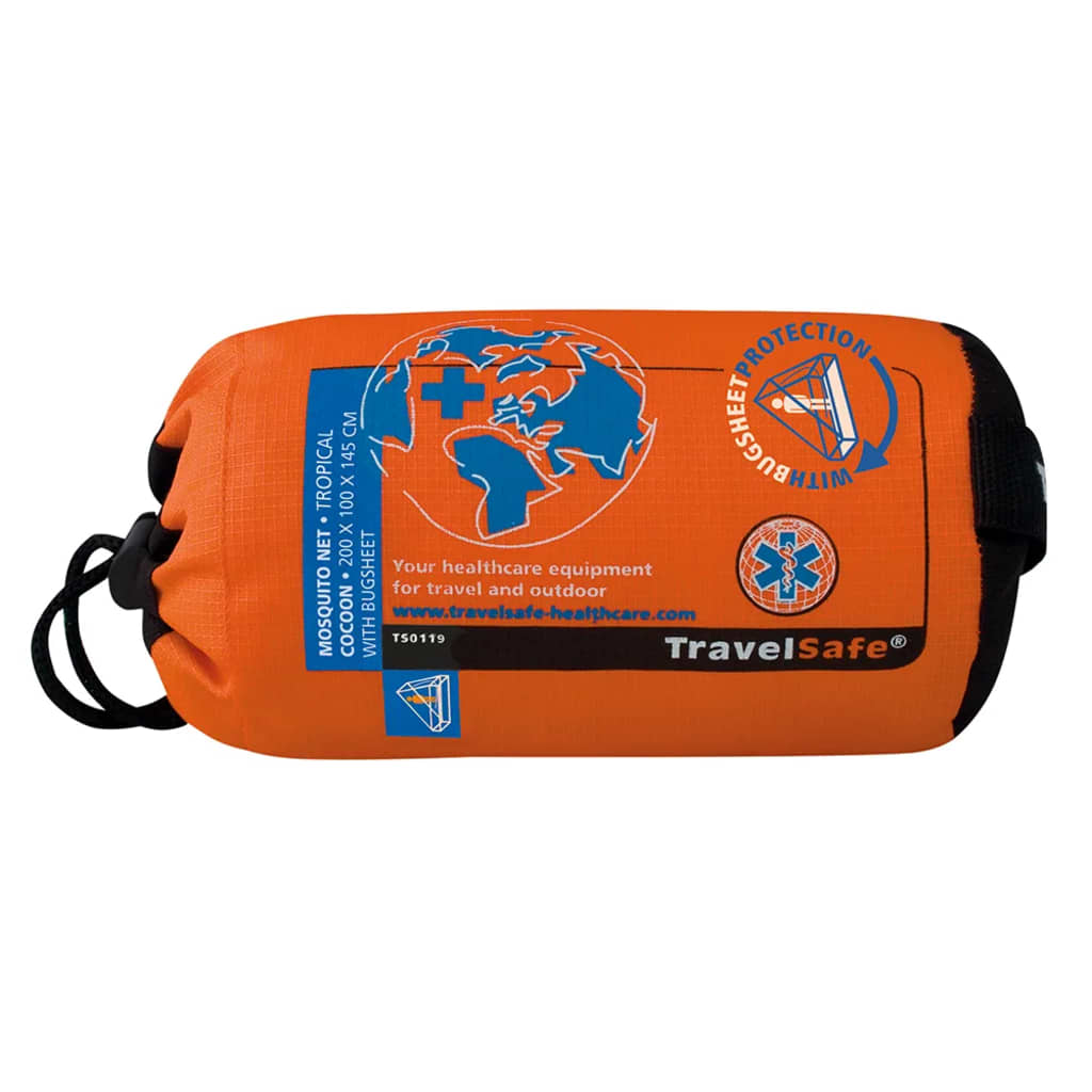 Travelsafe myggenet Tropical trekantsformet kokon 1 person