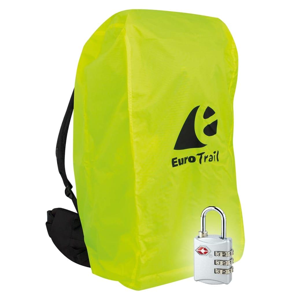 Travelsafe Ryggsekktrekk med TSA-lås M gul