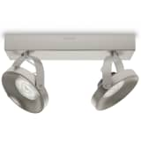 Philips myLiving Foco LED Spur 2x4,5 W cromado 533121716