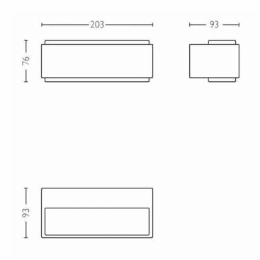 Philips myGarden Applique murale LED Stratosphere 2x4,5 W 1648793P0[6/9]