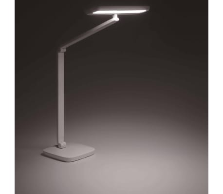 Philips Lámpara de mesa LED Gadwall base pinza 11 W blanca 6604931P5[5/18]