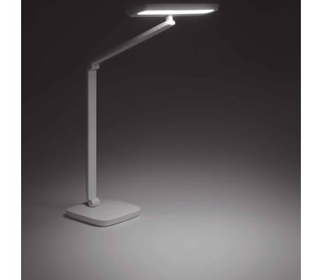 Philips Lámpara de mesa LED Gadwall base pinza 11 W blanca 6604931P5[6/18]