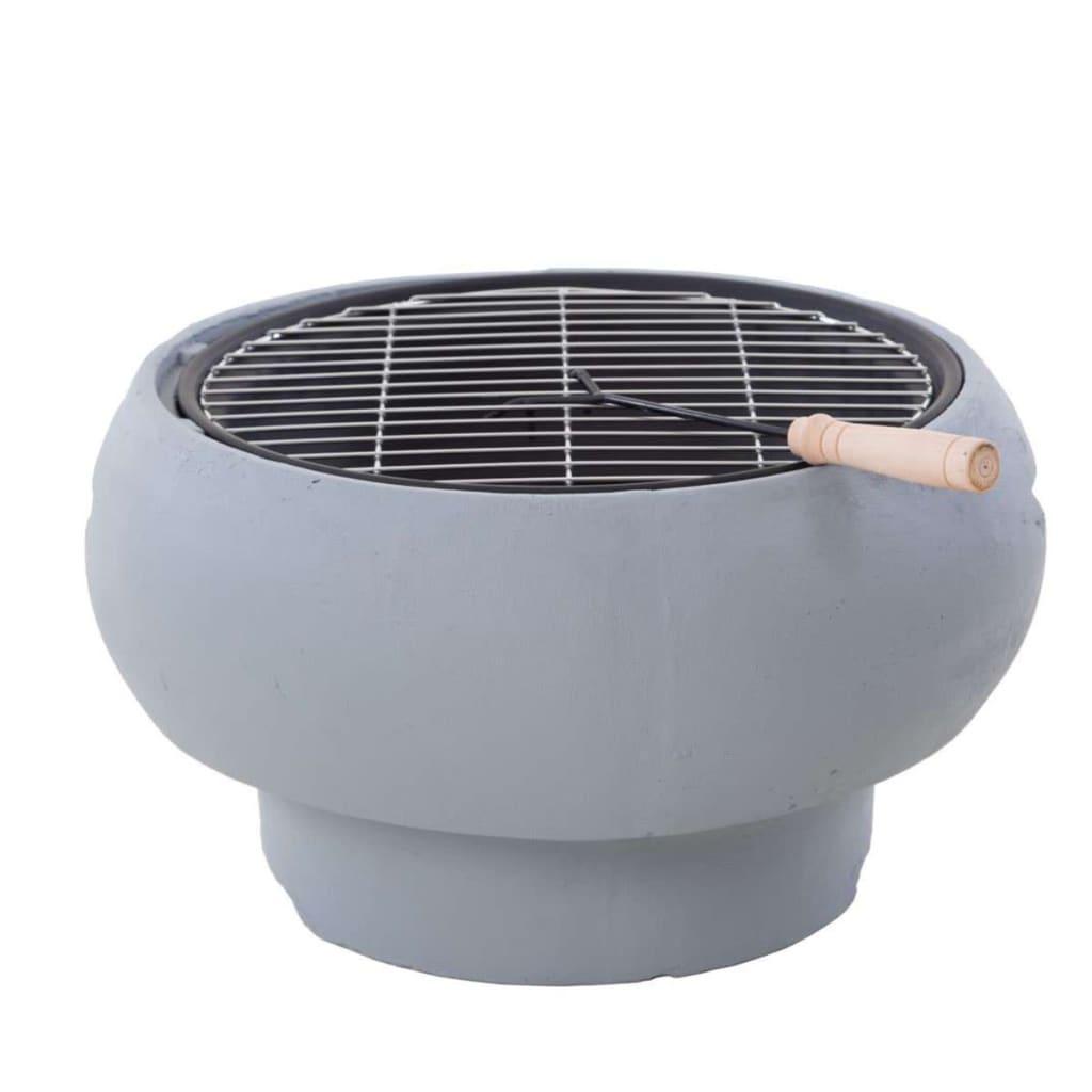 Afbeelding van BBGRILL Draagbare barbecue grijs BBQ TUB-G