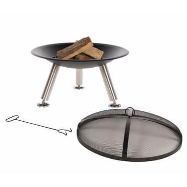 RedFire Vasque à feu Chicago Noir Acier 75 cm 85013[6/10]