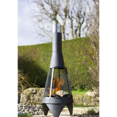 RedFire Gartenofen Kingston mit Gittereinsatz Medium Stahl 84011[3/7]