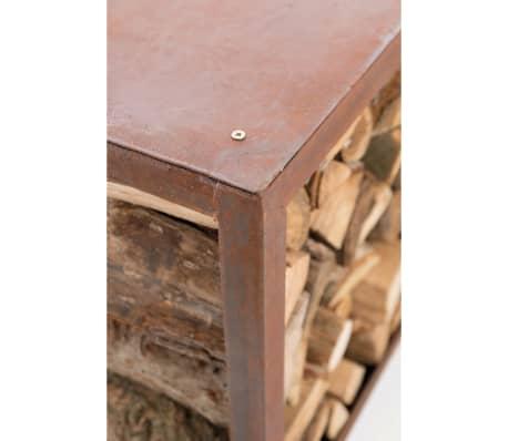 RedFire Suport depozitare lemne de foc Hodr, ruginiu, 88519[8/8]