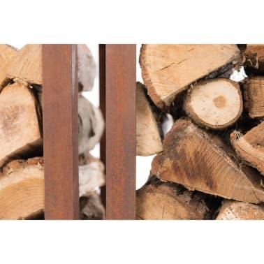 RedFire Suport depozitare lemne de foc Hodr, ruginiu, 88519[9/9]