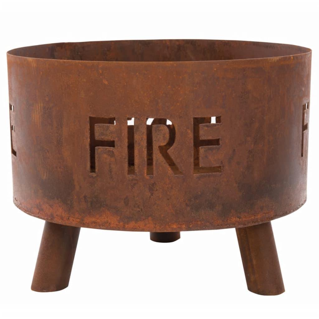 """RedFire Bol pentru foc """"Fulla"""", ruginiu, 88030 poza 2021 RedFire"""