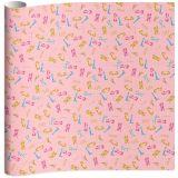 Stationery Team kaftpapier Nickelson Girls 100 x 70 cm 2 stuks