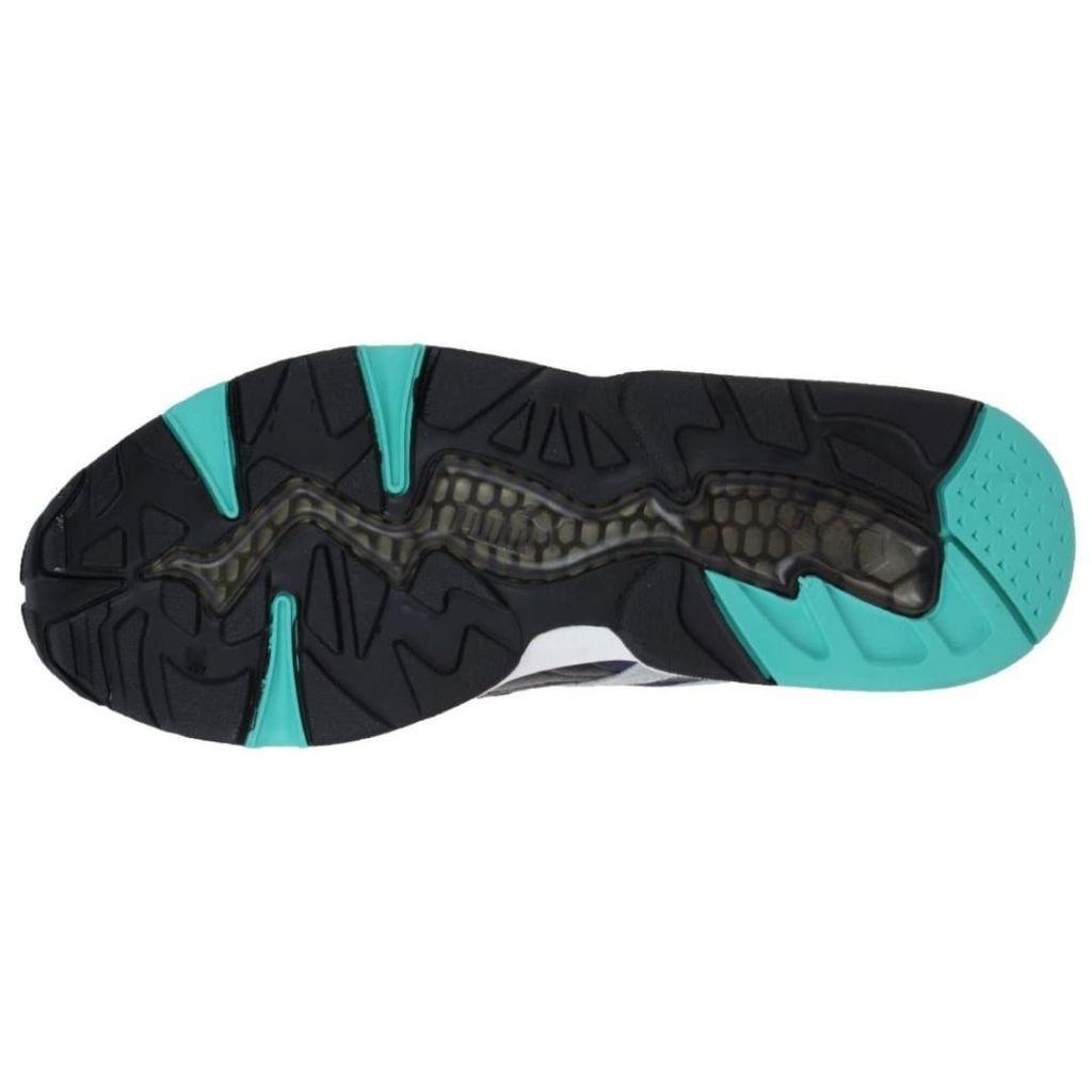 c4a05960dc0 Puma Trinomic R698 Sneakers Heren Zwartblauwgroen Maat 45 puma kopen in de  aanbieding