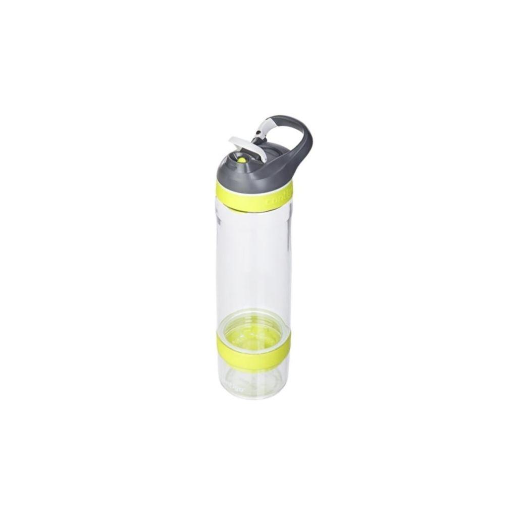 Afbeelding van Contigo Cortland Infuser Drinkfles 770 ml Transparant / Groen