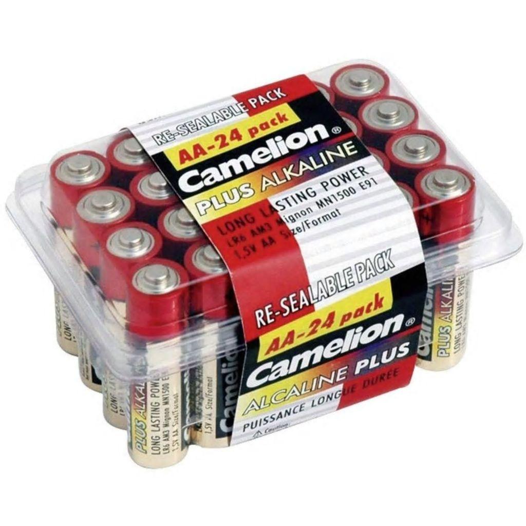 Afbeelding van Camelion Batterijen Penlite Alkaline AA LR6 24 stuks