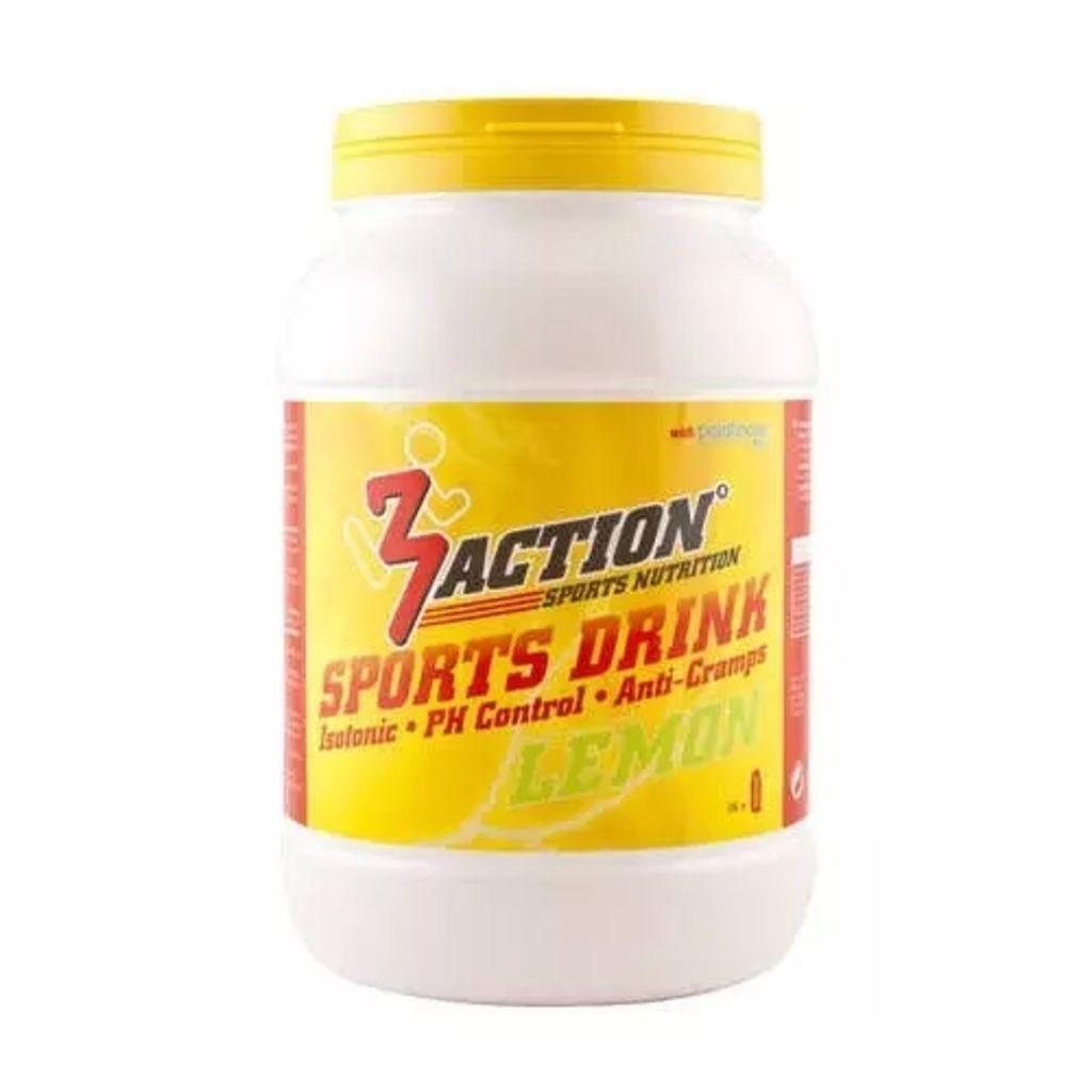 Afbeelding van 3Action sportdrank Lemon 1 kg