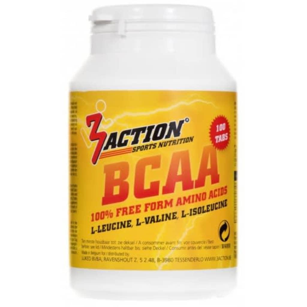 Afbeelding van 3Action Bcaa 100 tabletten