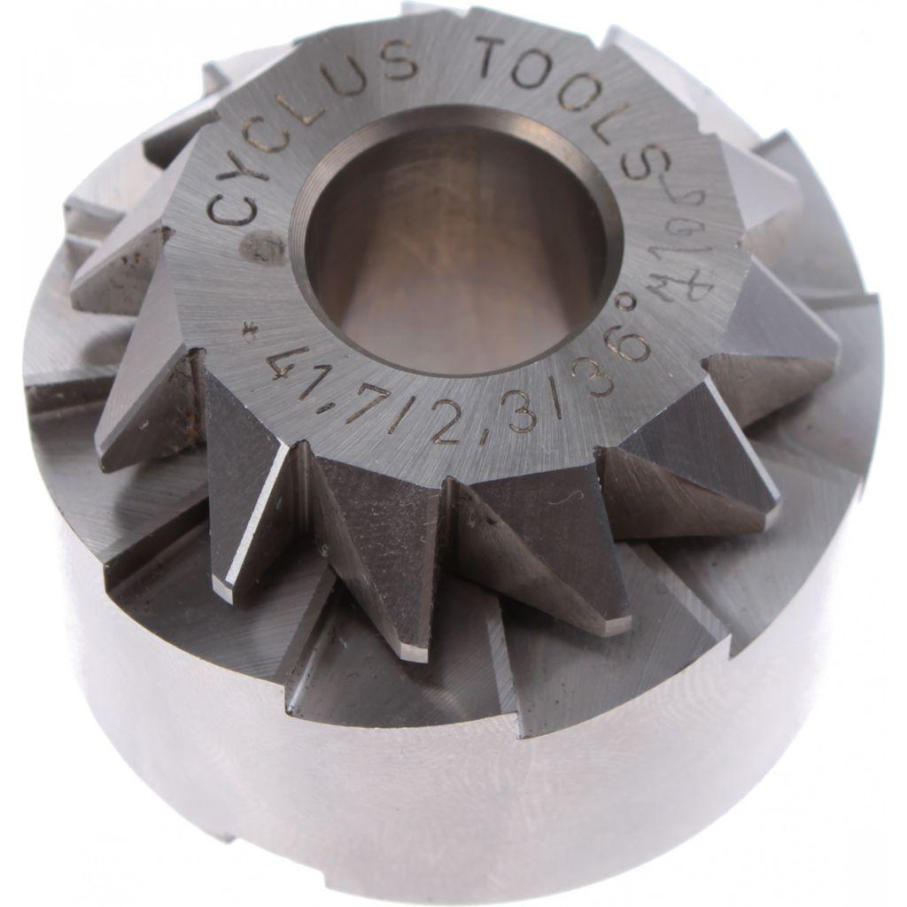 Afbeelding van Cyclus Balhoofdfrees semi geintegreerd 41,7/2,3/36 los staal