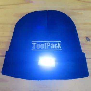 Toolpack Arbetsmössa med LED-lampor svart 360.125[2/5]