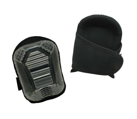 Toolpack Rodilleras de trabajo Pro Skarn con capa de PVC negras
