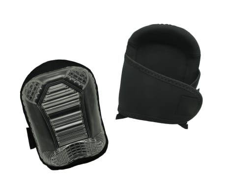 Toolpack Genouillères Pro Skarn avec capuchon PVC Noir[1/4]