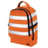 Toolpack Sac à dos à outils haute visibilité Guard Orange et noir
