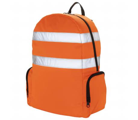 Toolpack Verktygsryggsäck med hög synlighet Glance orange och svart