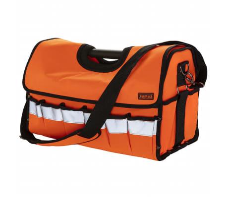Toolpack Verktygsväska med hög synlighet Timber orange och svart