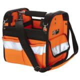 Toolpack Sac à outils haute visibilité Distinct Orange et noir