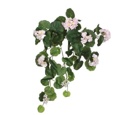 Mica Decorations Mica flowers - hanggeranium roze maat in cm: 63[1/1]
