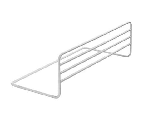 A3 Baby & Kids Nastavljiva varnostna ograja za posteljo Trombone bela