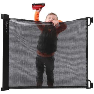 A3 Baby & Kids Ištraukiami apsauginiai varteliai Rolygate, mat. juoda[2/4]
