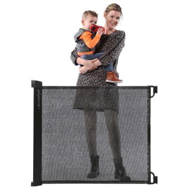 A3 Baby & Kids Ištraukiami apsauginiai varteliai Rolygate, mat. juoda[3/4]