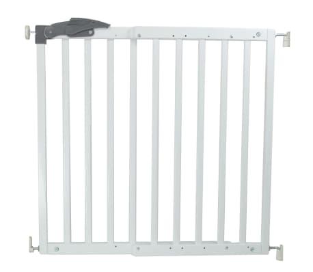 A3 Baby & Kids sigurnosna ograda Oslo 71 - 102 cm drvena bijela 64634