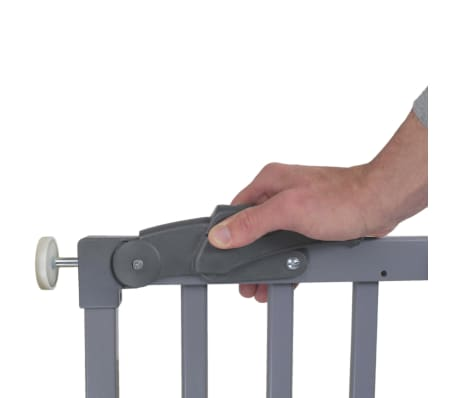 A3 Baby & Kids Apsauginiai varteliai Oslo, pilki, 71-102cm, mediena[3/5]