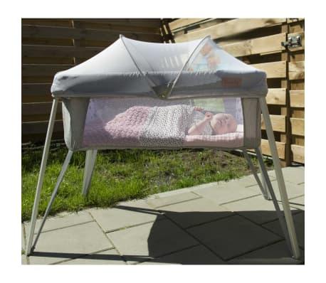 Soozly Babybett Reisebett mit Insektenschutz Grau 64655[4/11]
