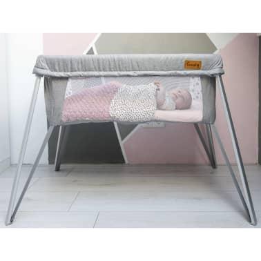 Soozly Babybett Reisebett mit Insektenschutz Grau 64655[5/11]