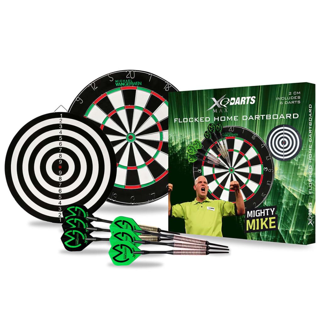 XQmax Set placă darts MvG 2 cm pluș QD4000010 poza 2021 XQmax Darts