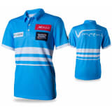 XQmax Darts VvdV Replikat Matchshirt Blau Größe XS QD9100010