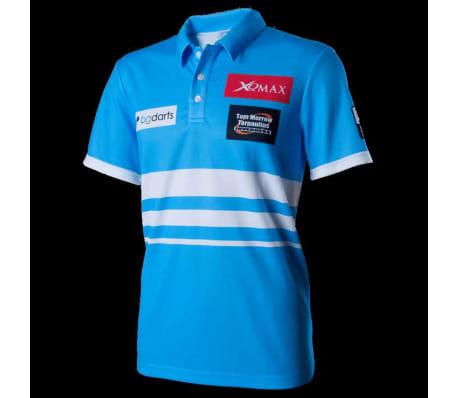 XQmax Darts T-shirt réplique de match VvdV Bleu Taille S QD9100020[2/6]