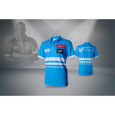 XQmax Darts T-shirt réplique de match VvdV Bleu Taille S QD9100020[4/6]