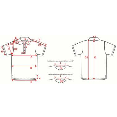 XQmax Darts T-shirt réplique de match VvdV Bleu Taille S QD9100020[6/6]