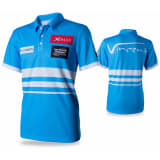 XQmax Darts VvdV Replikat Matchshirt Blau Größe M QD9100030