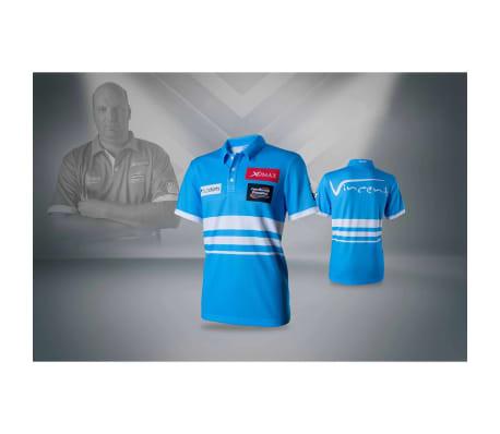 XQmax Darts Réplica de camiseta VvdV azul talla M QD9100030[4/6]