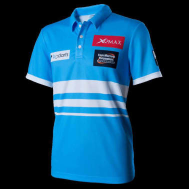 XQmax Darts Réplica de camiseta VvdV azul talla M QD9100030[2/6]