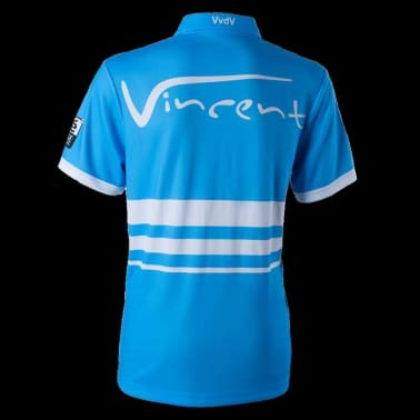 XQmax Darts Réplica de camiseta VvdV azul talla M QD9100030[3/6]