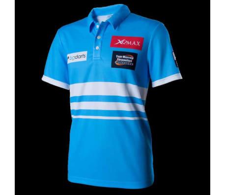 XQmax Darts T-shirt réplique de match VvdV Bleu Taille L QD9100040[2/6]