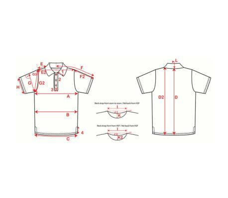 XQmax Darts T-shirt réplique de match VvdV Bleu Taille XXL QD9100060[6/6]