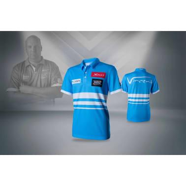 XQmax Darts T-shirt réplique de match VvdV Bleu Taille XXL QD9100060[4/6]