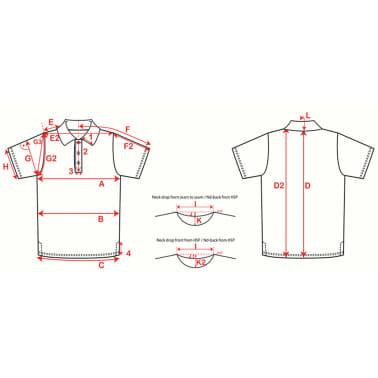 XQmax Darts T-shirt réplique de match VvdV Bleu Taille XXXL QD9100070[5/5]