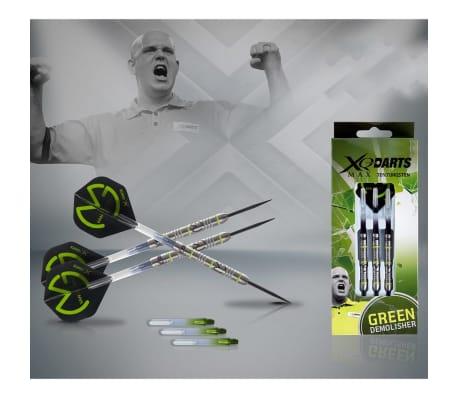 XQmax Smiginio strėlytės MvG Green Demolisher 21g 70% Tungsten[2/3]