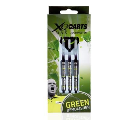 XQmax Smiginio strėlytės MvG Green Demolisher 21g 70% Tungsten[3/3]