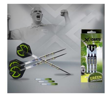 XQmax Darts MvG Green Demolisher 23g 70% tungsten QD2200020[2/3]